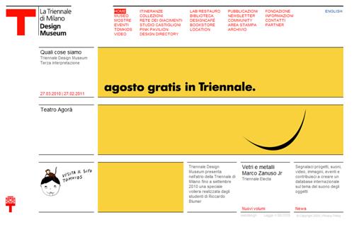 Ingresso gratuito ad agosto @ Triennale Design Museum