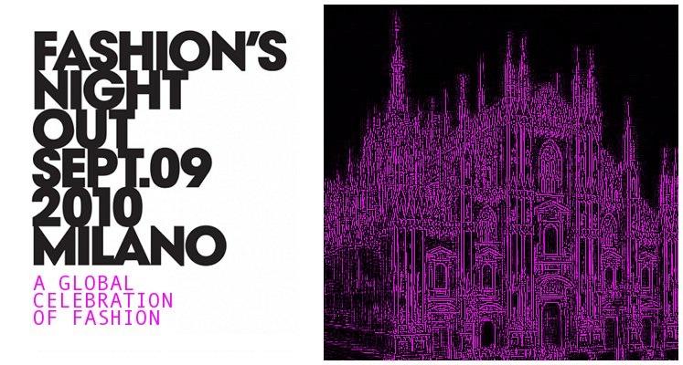 Notte Bianca della Moda @VFNO Vogue Fashion Night Out