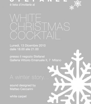 Stefanel White Christmas Cocktail