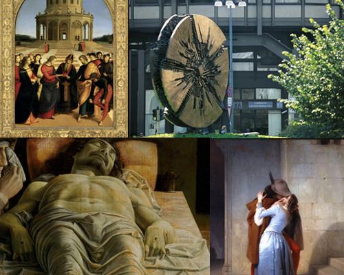Domenica a piedi a Milano, puoi votare la migliore opera d'arte della città!