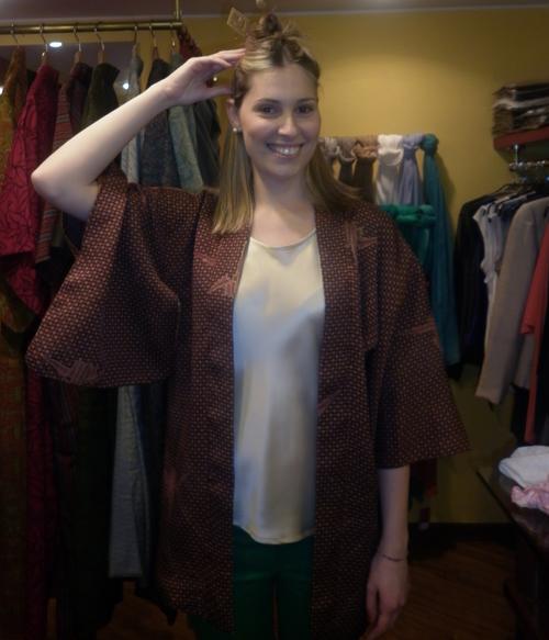 Temporary Store Bianco Levrin fino all'8 aprile Kimono Vintage e aori per Lei