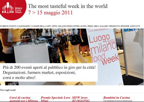 Milano Food Week, via al weekend di gusto