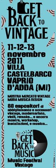 GET BACK TO… VAPRIO D'ADDA con la Mostra-Mercato dedicate alla musica e al vintage