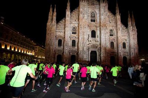 Midnight Run 2012, Milano corre di notte