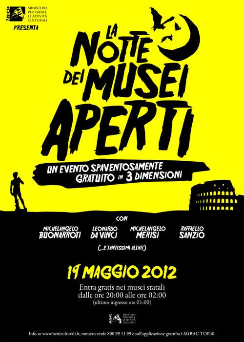 Notte dei Musei 2012, una Notte al Museo a Milano e dintorni