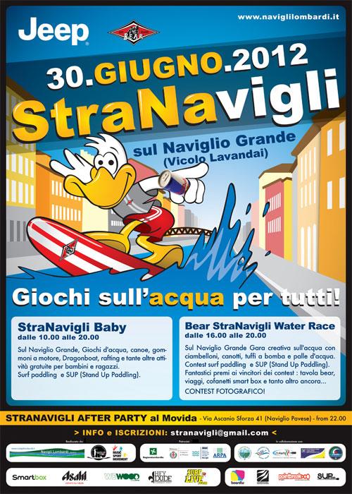 Tutti in acqua con la StraNavigli 2012