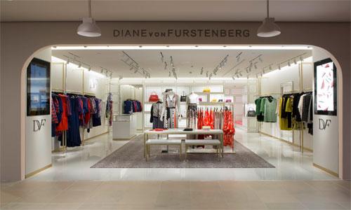Diane von Furstenberg, shop in shop a La Rinascente