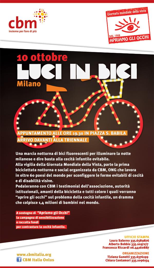 Biciclettata in notturna a Milano