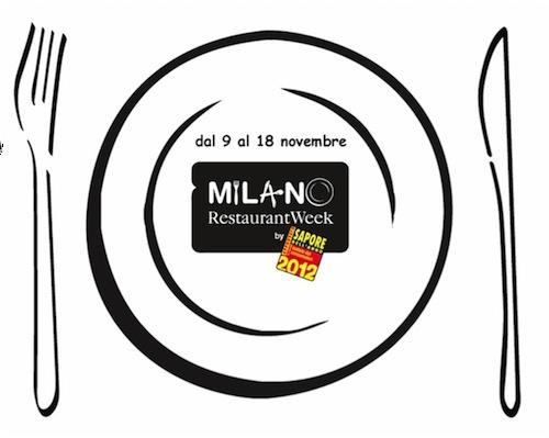 Milano Restaurant Week 9 -18 novembre