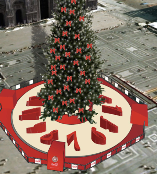 L'Albero di Natale di Piazza Duomo sarà… 23 metri di GaGà Milano