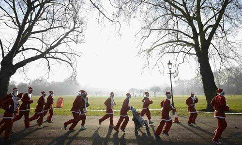 Babbo Running 2012: torna la corsa dei Babbi Natale