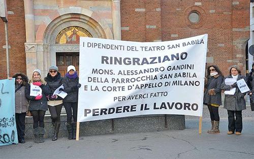 Chiude il Teatro San Babila di Milano