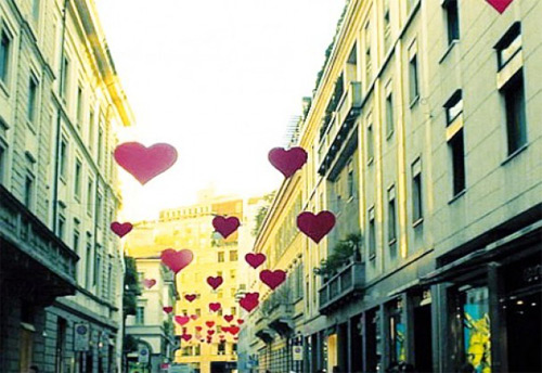 Innamorarsi a Milano a suon di Baci