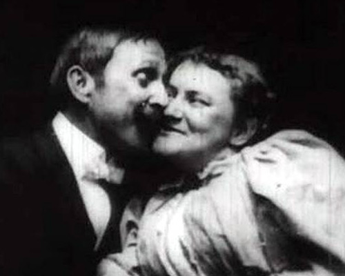 The Kiss, primo bacio filmato, 1896