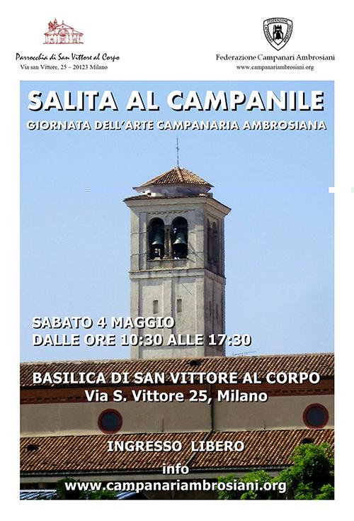 Apertura straordinaria: su un campanile di Milano