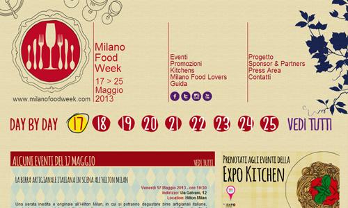 Milano Food Week: mettiamoci a tavola!