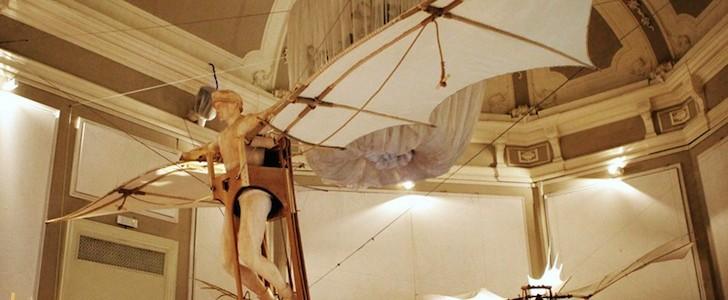 """L'uomo sogna di volare da """"Leonardo 3. Il Mondo di Leonardo"""""""