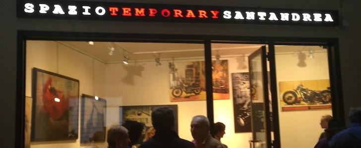 Temporary moto custom: una settimana in via Sant'Andrea
