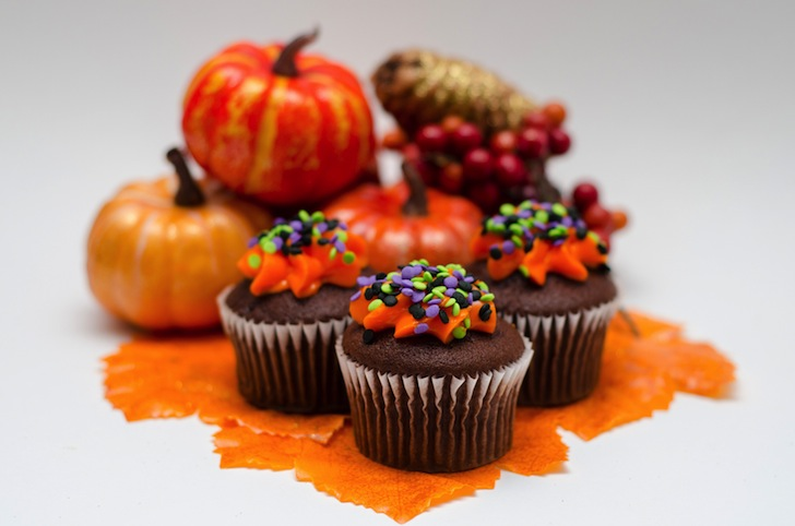 Halloween Cupcakes - Les Parisiennes