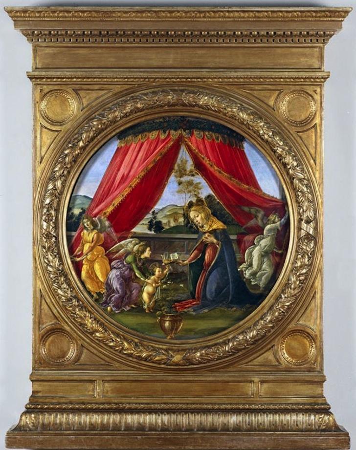 Madonna Botticelli Pinacoteca Ambrosiana