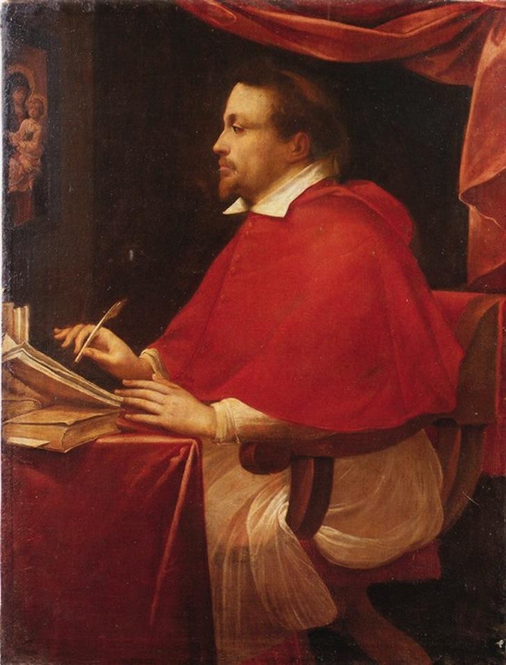 Ritratto Cardinale Federico Borromeo