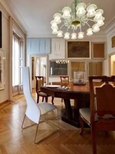 Sala da -pranzo Casa Boschi di Stefano