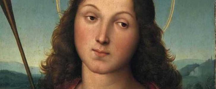 San Sebastiano di Raffaello alla Pinacoteca di Brera