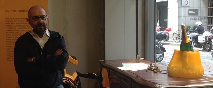 """A tu per tu con il design di Milano: intervista a Ferruccio Laviani tra Veuve Cliquot e nuovi """"banchi"""""""