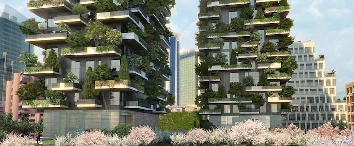 La bbc a milano per seguire il bosco verticale di piazza - Immobiliare de piccoli ...