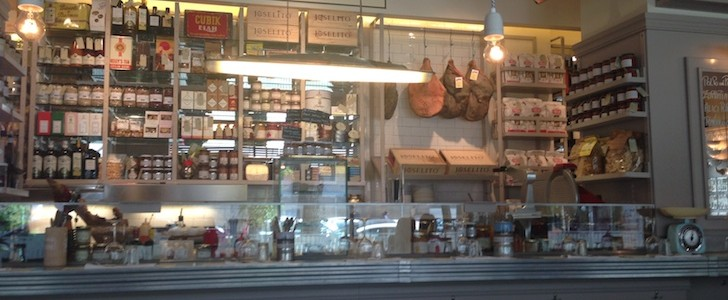Drogheria Milanese: il pranzo è shabby chic