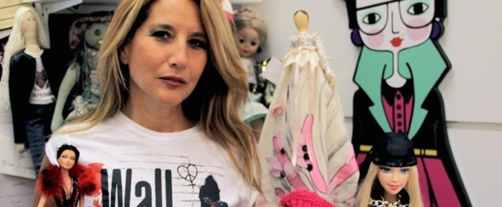 Wall of Dolls, la moda contro il femminicidio in via De Amicis