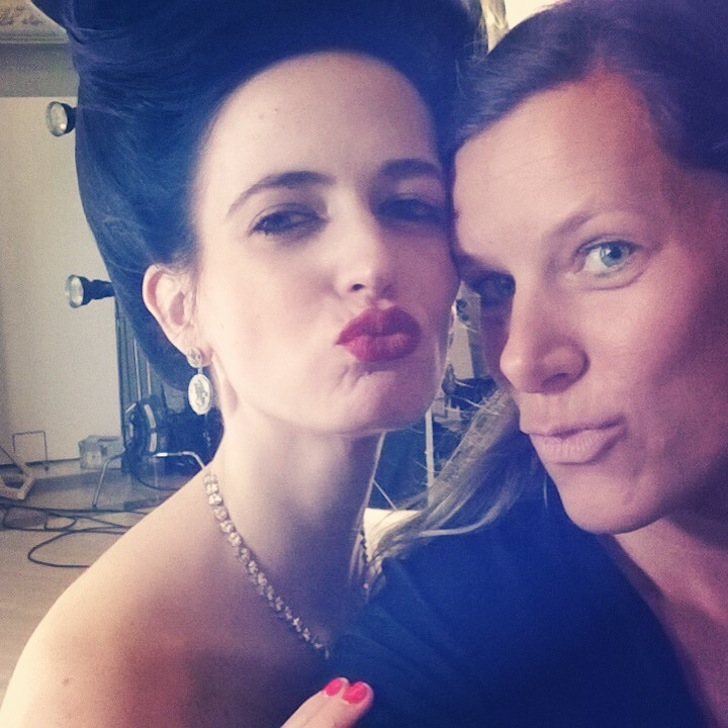 Campari Calendar 2015_BTS_July 10_EVA and JULIA_Selfie