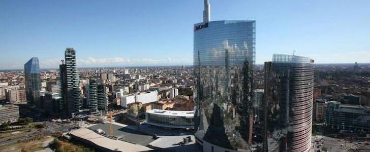 Milano s 39 alza come saranno le torri di porta nuova - Uffici gtt porta nuova ...
