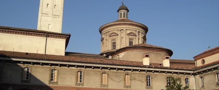 Milano dall'alto: sabato apertura straordinaria della torre campanaria della Basilica di San Vittore al Corpo