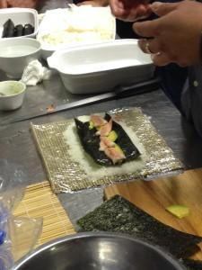 Laboratorio Cingoli corso di sushi