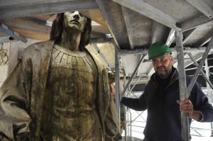 Uno dei 15 monumenti di Milano su cui sta lavorando Exponsor Milano e che verranno visitati nel corso delle guide gratuite per i cantieri artistici della città