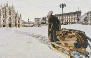 La mostra di Giovanni Segantini a Milano, Palazzo Reale