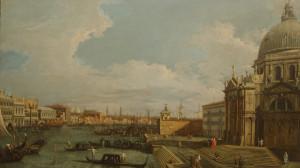 Canaletto - La Salute saluta il Duomo