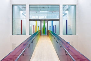 Gli interni del Triennale Design Museum