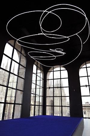 Yves Klein Lucio Fontana Milano