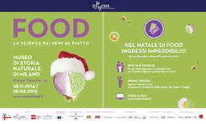 Food. La scienza dai semi al piatto in mostra al Museo di Storia Naturale