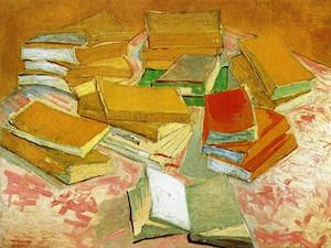 Van Gogh: la passione per i libri