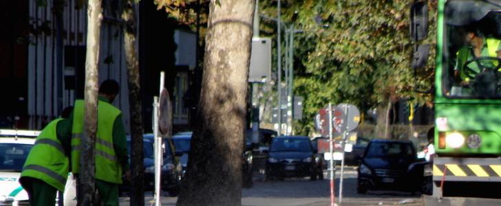 Netturbina multata a Milano