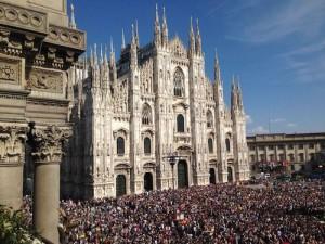 I LOVE EXPO, San Valentino è in Piazza Duomo