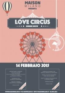 Love Circus a Maison Milano