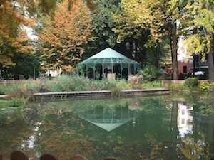 Giardino di Villa Mylius Von Willer - ReGis Sesto San Giovanni , Milano
