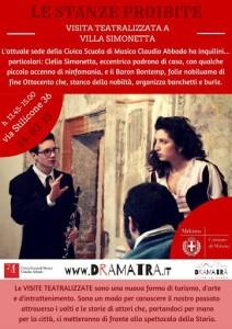 Le Stanze Proibite Dramatrà Milano
