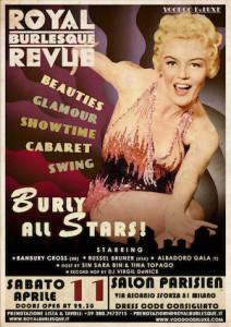 Burly all stars al Salon Parisien