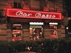 APERITIVI MILANO - Bar Basso (zona Piola)