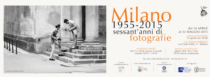 Milano 1955-2015, Sessant'anni di fotografie